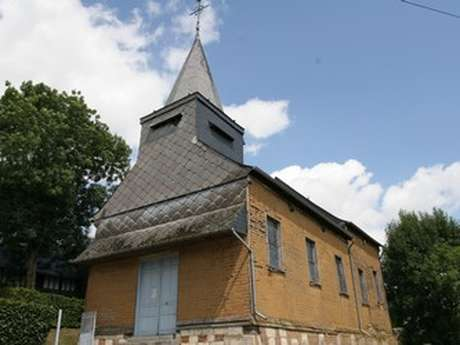 Eglise en torchis de Rouvroy-sur-Serre