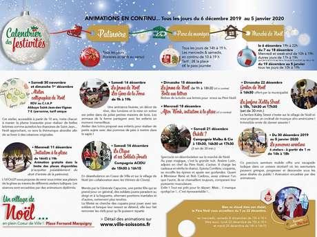 Marché de Noël à Soissons