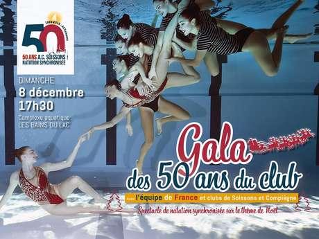 Gala des 50 ans du club de Soissons natation synchronisée