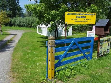 Évasion : location de Canoë Kayak et VTT