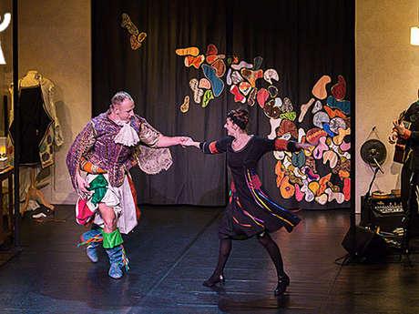 """Théâtre visuel et danse - """"Oripeaux"""", Atelier Bonnetaille"""
