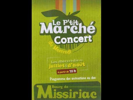 Le P'tit Marché Concert du Mercredi