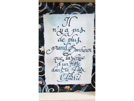 Christine Allibrant Calligraphe-Illustratrice