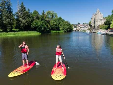 Josselin canoë-kayak, pédalos, paddles et vélos