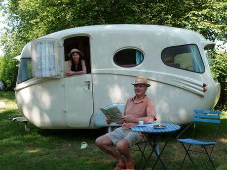 Les caravanes de collection du Domaine du Roc