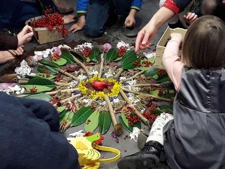 Atelier participatif - Création d'un mandala