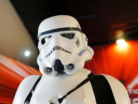 Médiathèque : expositions Star Wars