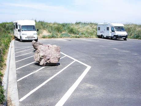 Aire de camping-cars intercommunale de Merville-Franceville-Plage