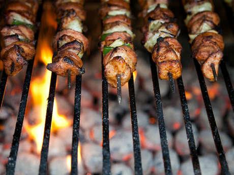 Le barbecue du minigolf