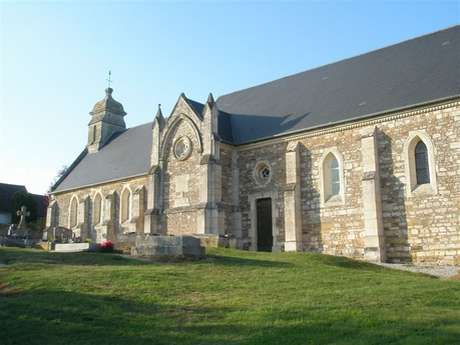 Eglise Saint Laurent de Fontaine Halbout (XIIème et XVIIIème)