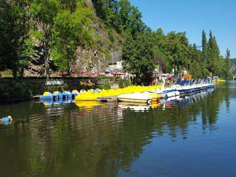 Au Beau Rivage canoë kayak