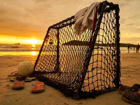 Sports sur la plage avec Fit Caen'p