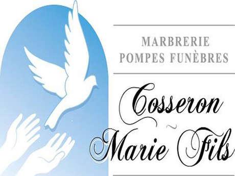 Pompes Funèbres - Marbrerie Cosseron-Marie Fils