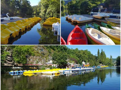 Beau Rivage canoe kayak