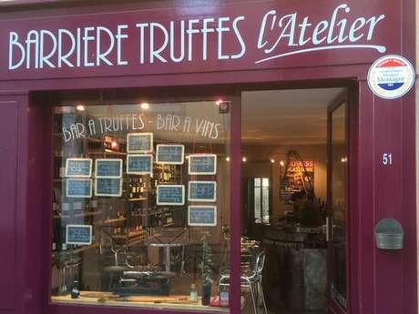 BARRIERE TRUFFES : L'ATELIER