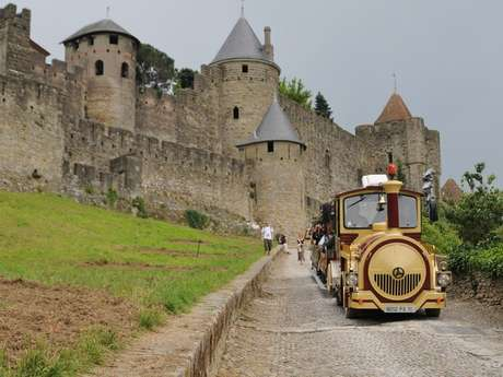 PETIT TRAIN DE LA CITE DE CARCASSONNE