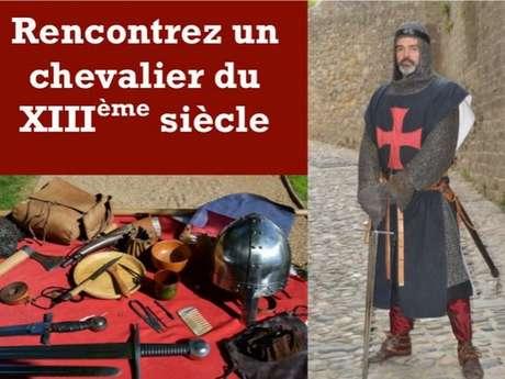 CENTRE D'HISTOIRE VIVANTE MÉDIÉVALE, RENCONTRE AVEC UN CHEVALIER DU XIIIE SIECLE