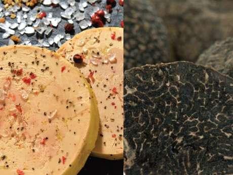 Marché au gras et aux truffes