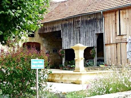 Visite guidée du village de St Vincent de Cosse
