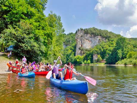Canoës Azur - Camping de la Bouysse