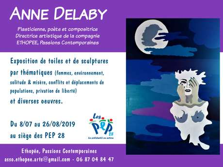 Exposition d'Anne Delaby