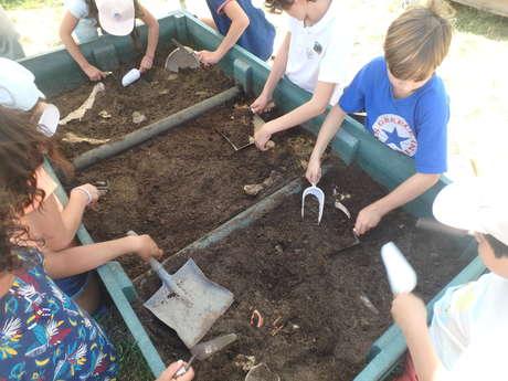 Ateliers d'archéologie pour les enfants