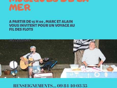 Spectacle d'Alain Pelletier et Marc