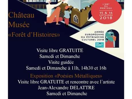 Journées Européennes du Patrimoine au Château Musée Forêt d'Histoires