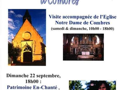 JOURNÉES EUROPÉENNES DU PATRIMOINE - Visite accompagnée de l'Eglise Notre Dame de Combres