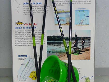 Location de kit de pêche