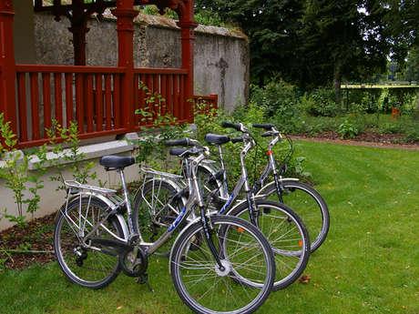 """Point de location vélos """"Office de Tourisme des Forêts du Perche"""""""
