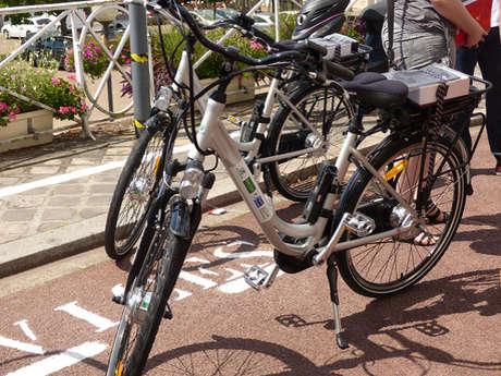 """Point de location vélos à assistance électrique """"Office de Tourisme du Perche"""""""