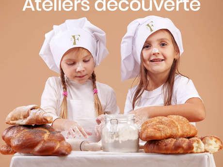 Atelier découverte de boulangerie et de pâtisserie