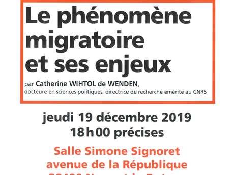 Conférence sur le phénomène migratoire et ses enjeux