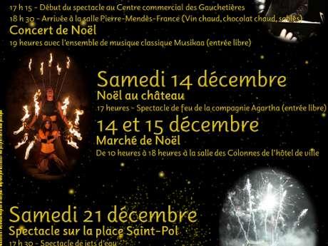 Noël : soirée spectacles