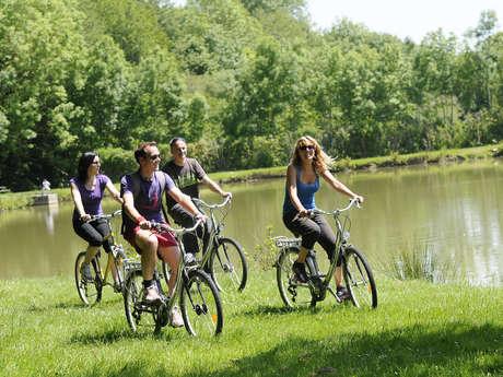 """Location de vélos à assistance électrique """"Thiron-Gardais"""""""