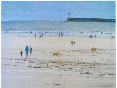 """Expo """"week-end à la plage"""" par J-P. Champdavoine"""