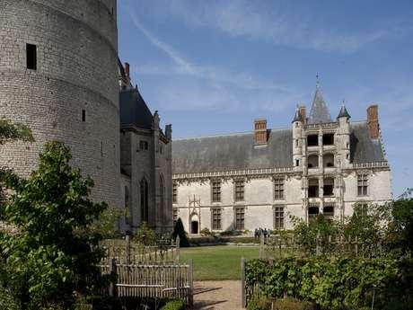 Jardin du château de Châteaudun
