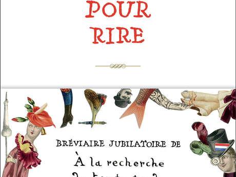 Laure Hillerin - Compagnie Abraxas : Proust pour rire