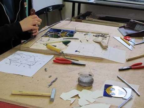 Ateliers pédagogiques du Centre International du Vitrail