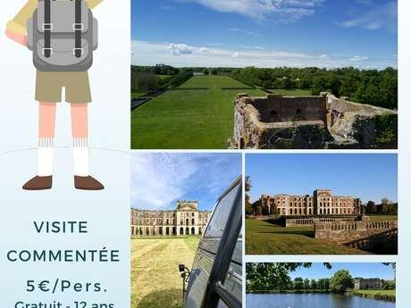Visites commentées du Parc et des Châteaux de La Ferté-Vidame les dimanches
