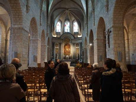 Visite guidée - L'église Saint-Valérien et le cimetière du Champdé