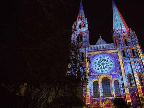 Noël à Chartres : Mapping de Noël