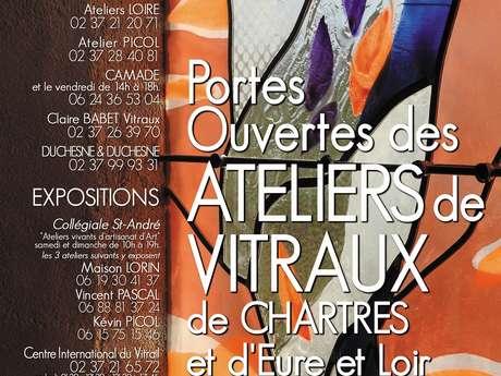 Portes ouvertes des ateliers de maîtres-verriers de Chartres et d'Eure-et-Loir