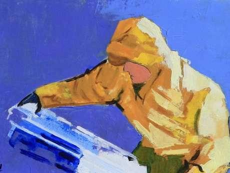 Exposition peintures Naji Zehdoudi