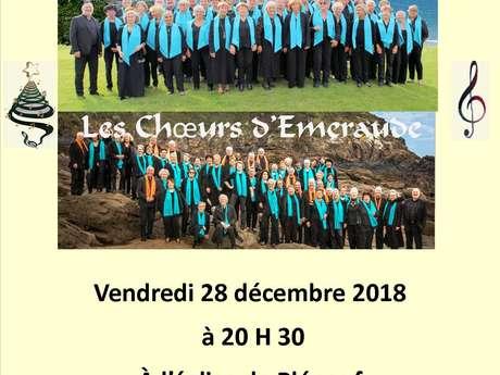 Concert : Le Chœur du Verdelet et les Choeurs d'Emeraude