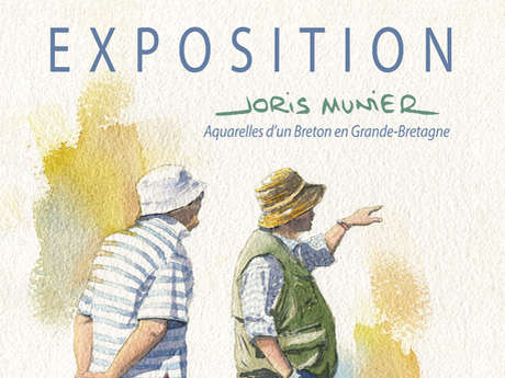 Exposition de Joris munier « Aquarelles d'un Breton en Grande-Bretagne »
