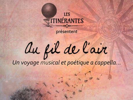 """Concert """"Au fil de l'air"""""""