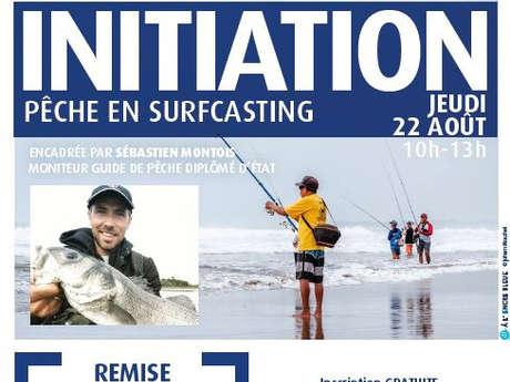 Initiation à la Pêche en surfcasting