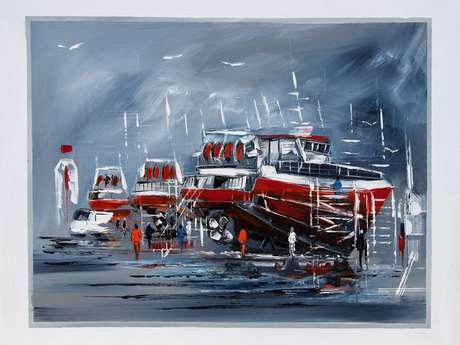 Exposition de peinture - Christian Boulanger